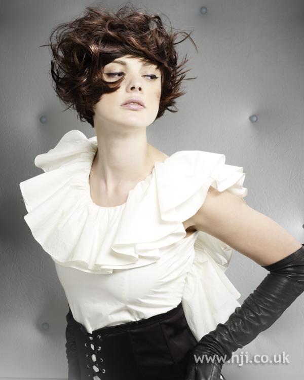 Hannah Gordon BHA NE7 hairstyle
