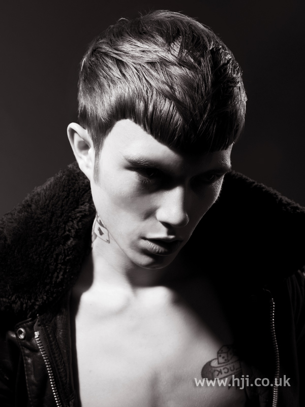 Jody Taylor BHA Men3 hairstyle