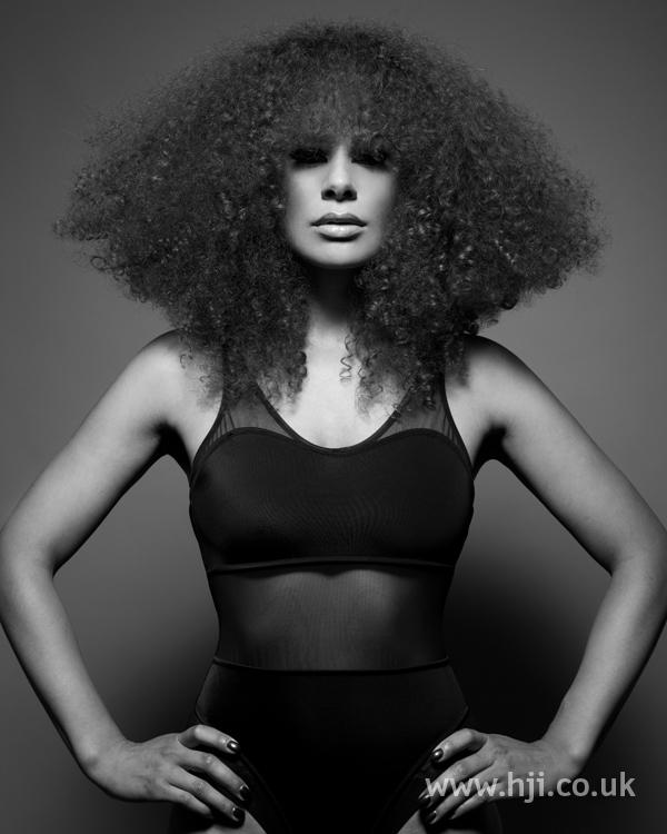 Sandra webb bha Afro5 hairstyle