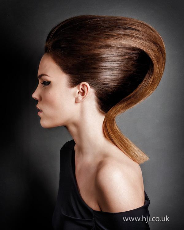 2013 avant garde hair up