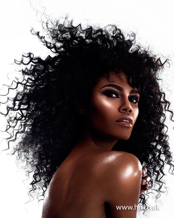 2014 afro spiral curls