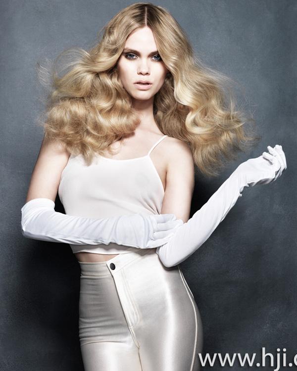 2013 blonde waves