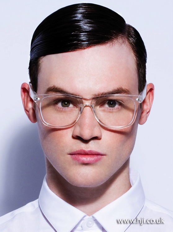 2013 mens sleek side part