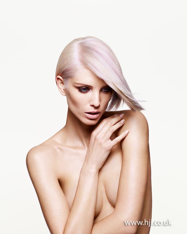 2013 platinum pink streaks bob