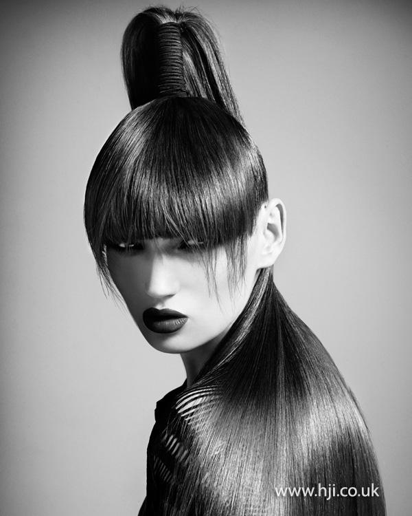 2013 sleek ponytail