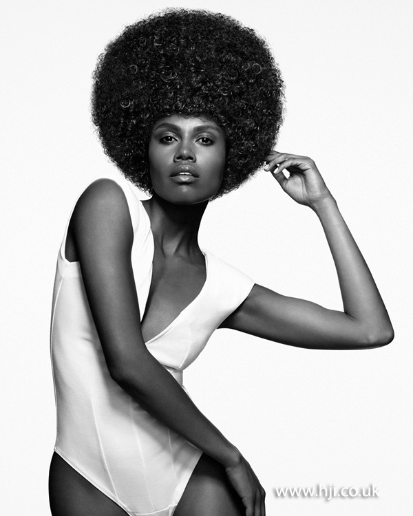 2013 textured afro