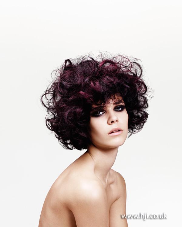 2013 textured plum curls