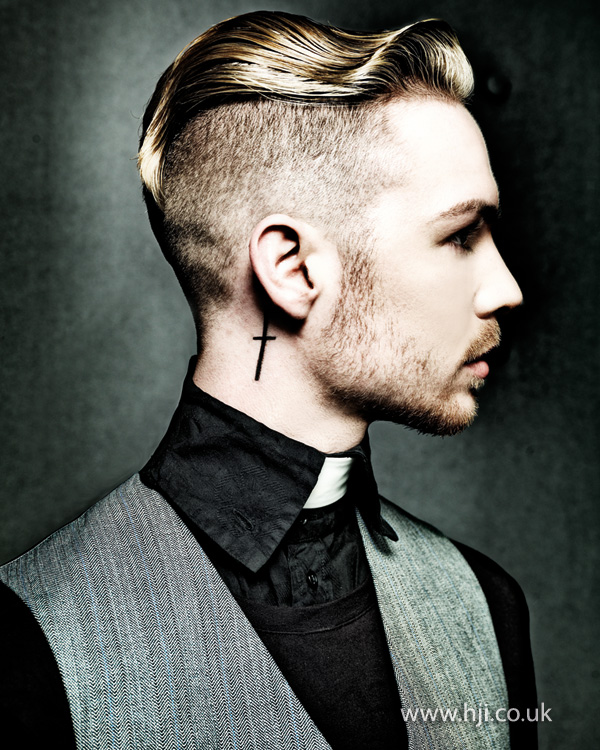 2014 mens undercut smooth wave on top