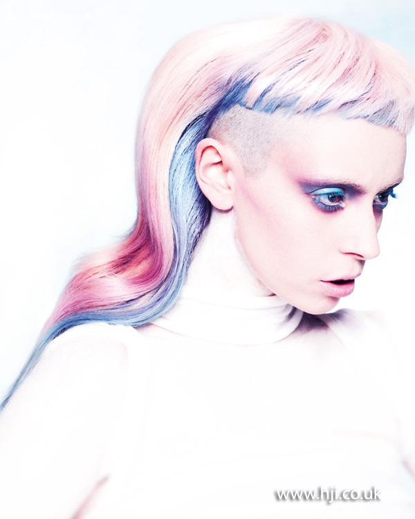 2014 pastel colours choppy extreme fringe