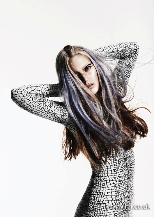 2014 purple brunette beachy texture