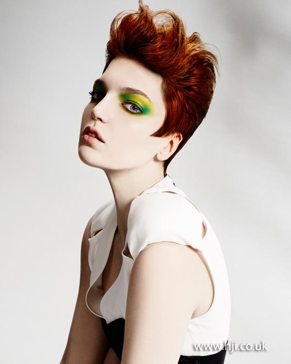 2013 redhead quiff