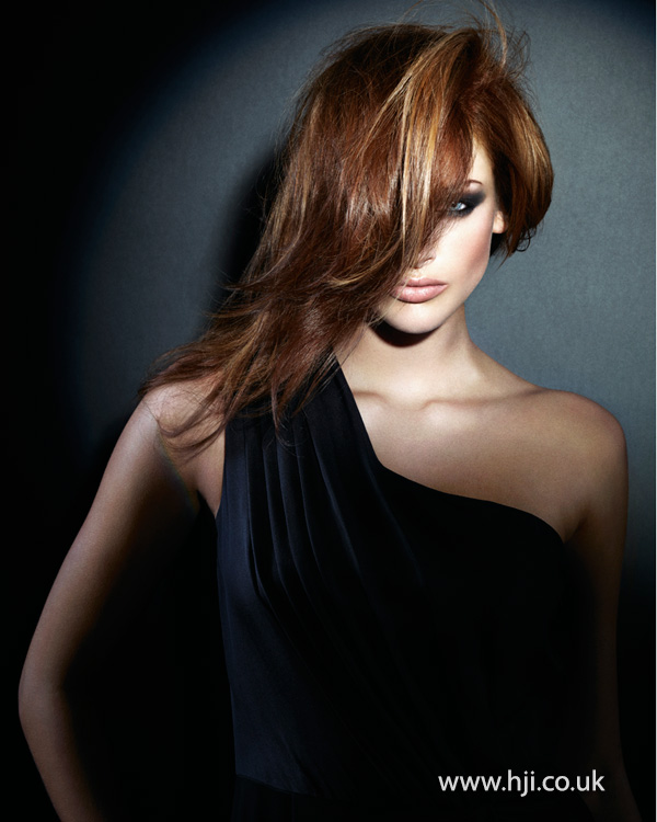 2013 asymmetric brunette