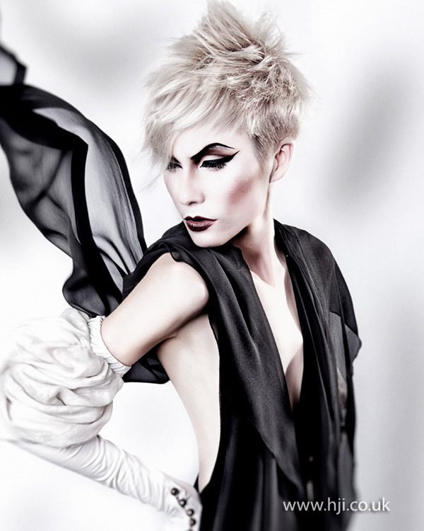 2013 blonde texture hair