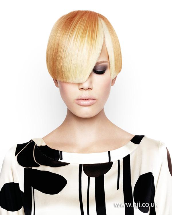 2013 multi tonal blonde bob