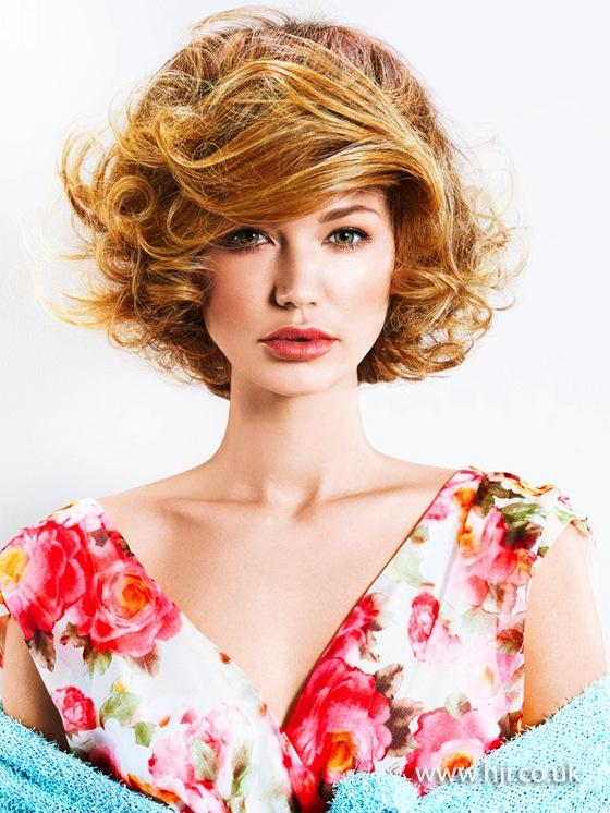 2014 golden curls volume texture