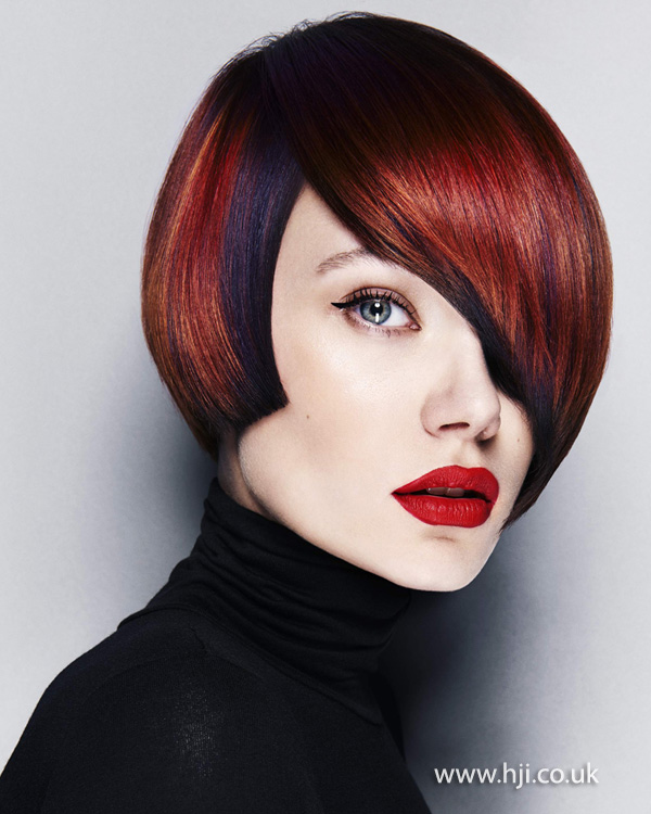 2014 red bob with purple underneath