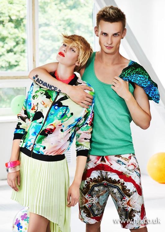 2014 blonde textured duos