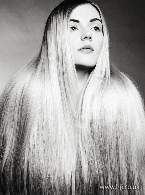 2014 long smooth blonde