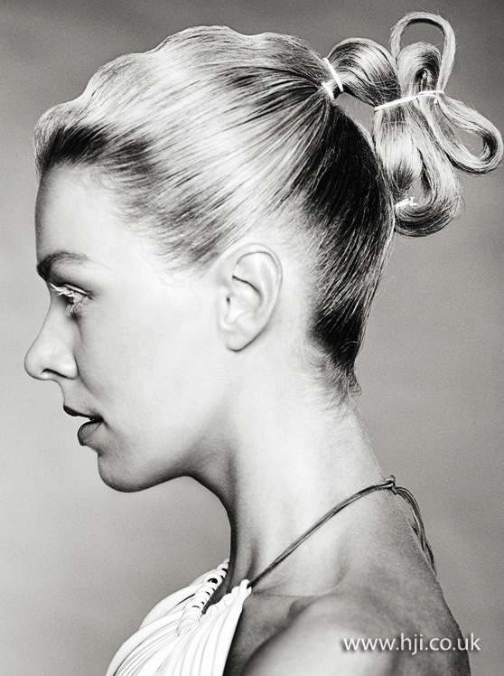 2014 woven and tied updo