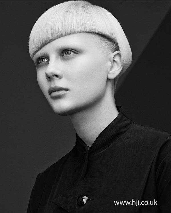 2014 Blonde bob with undercut