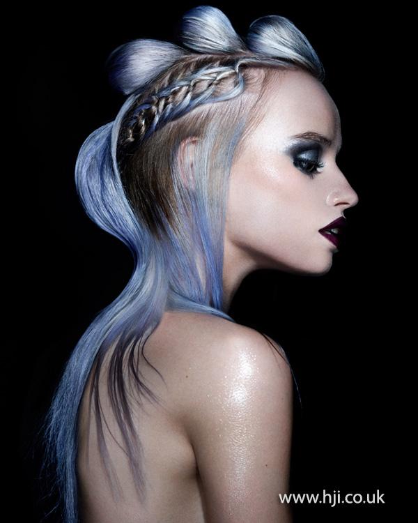 2014 icy blue avant garde
