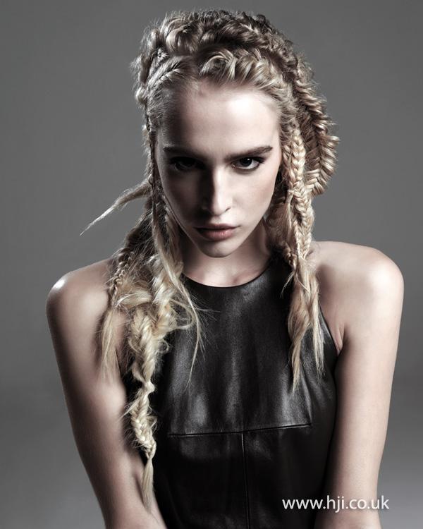 2015 long textured braids