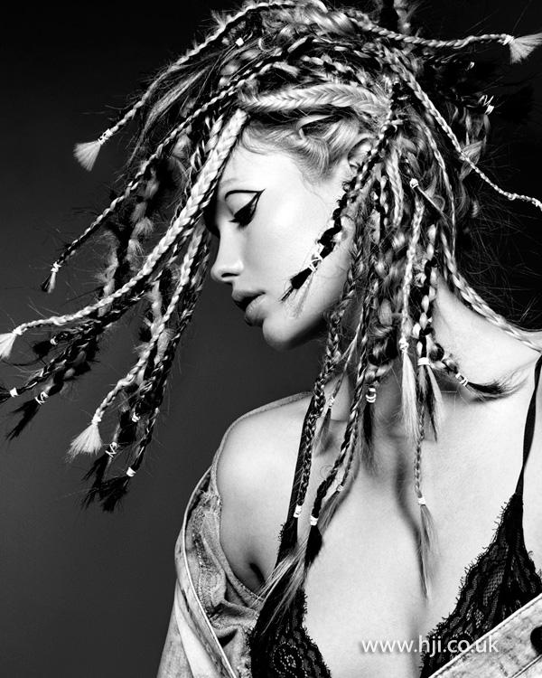 Black and blonde braids by Rachelle Simmonds