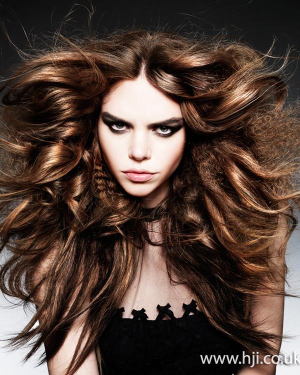 Wild brunette waves by Michelle Rooney