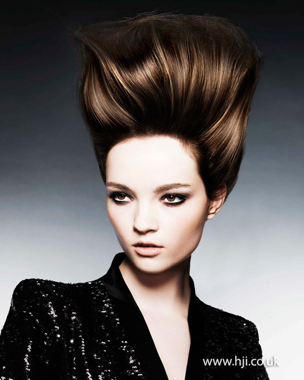 Modern beehive style by Michelle Rooney