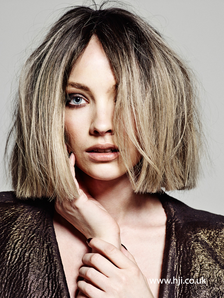 2015 blunt bronde bob hairstyle