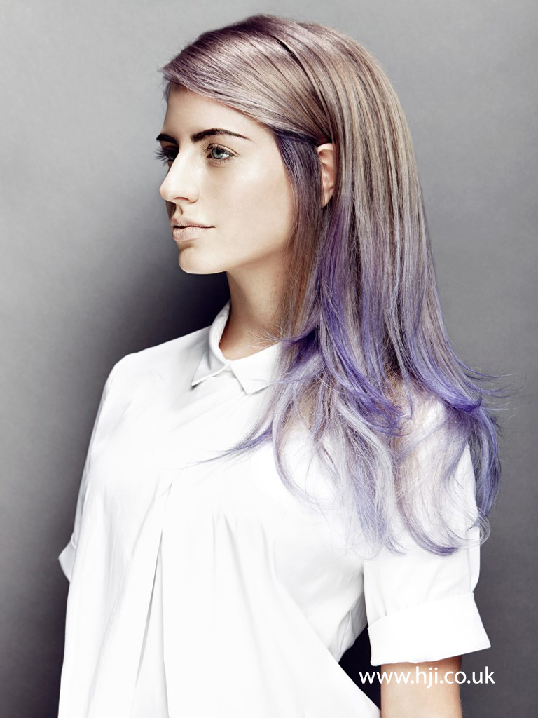 Long Layered Lilac Ombre from 2015