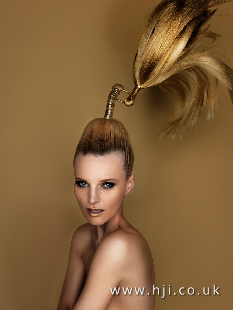 2016 avant garde ponytail hairstyle