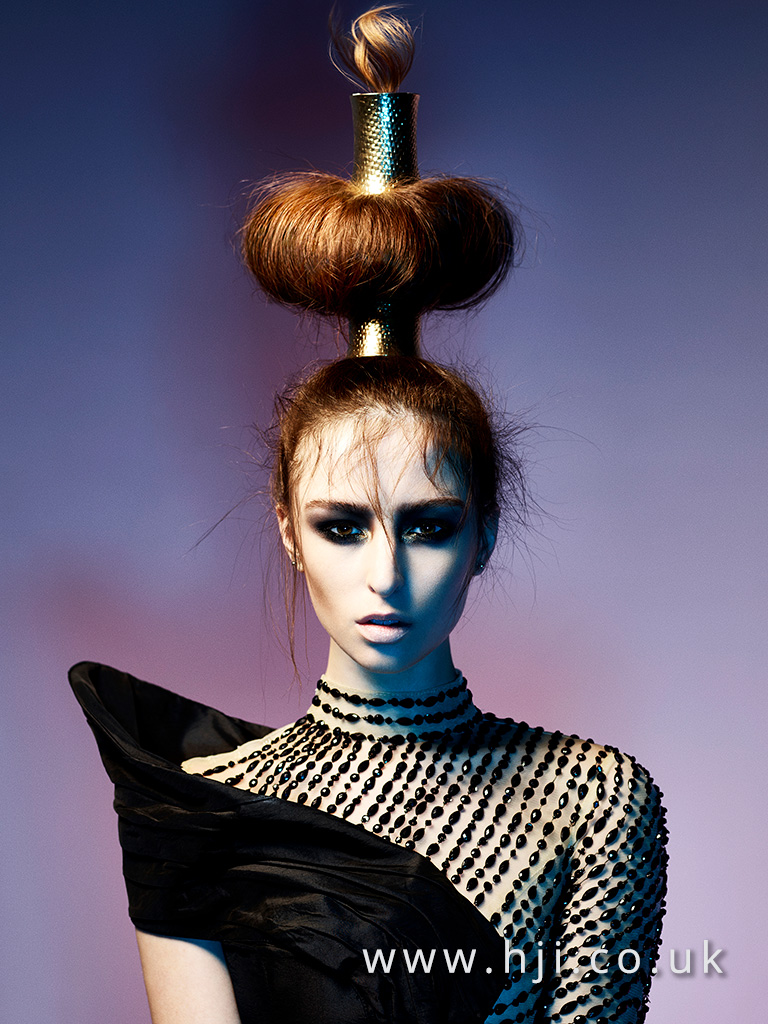 2016 avant garde updo hairstyle