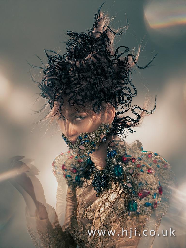 2016 BHA Avant Garde Hairstyle Chie Sato 04