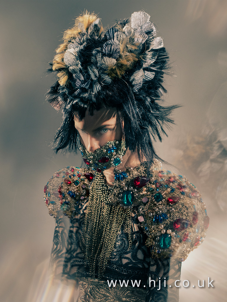 2016 BHA Avant Garde Hairstyle Chie Sato 07