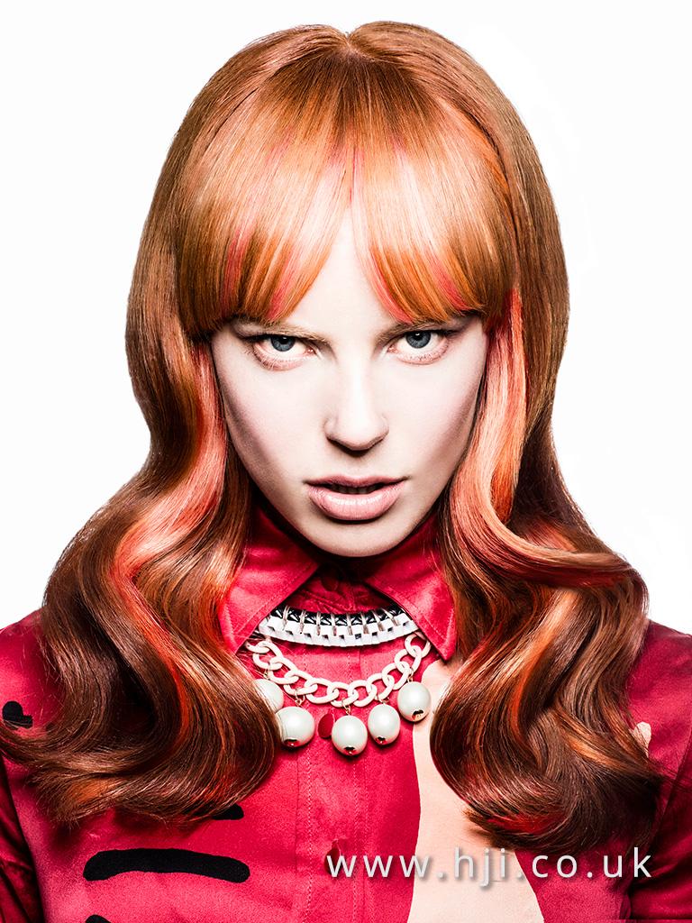 2016 BHA Colour Technician Hairstyle Siobhan Golden 01
