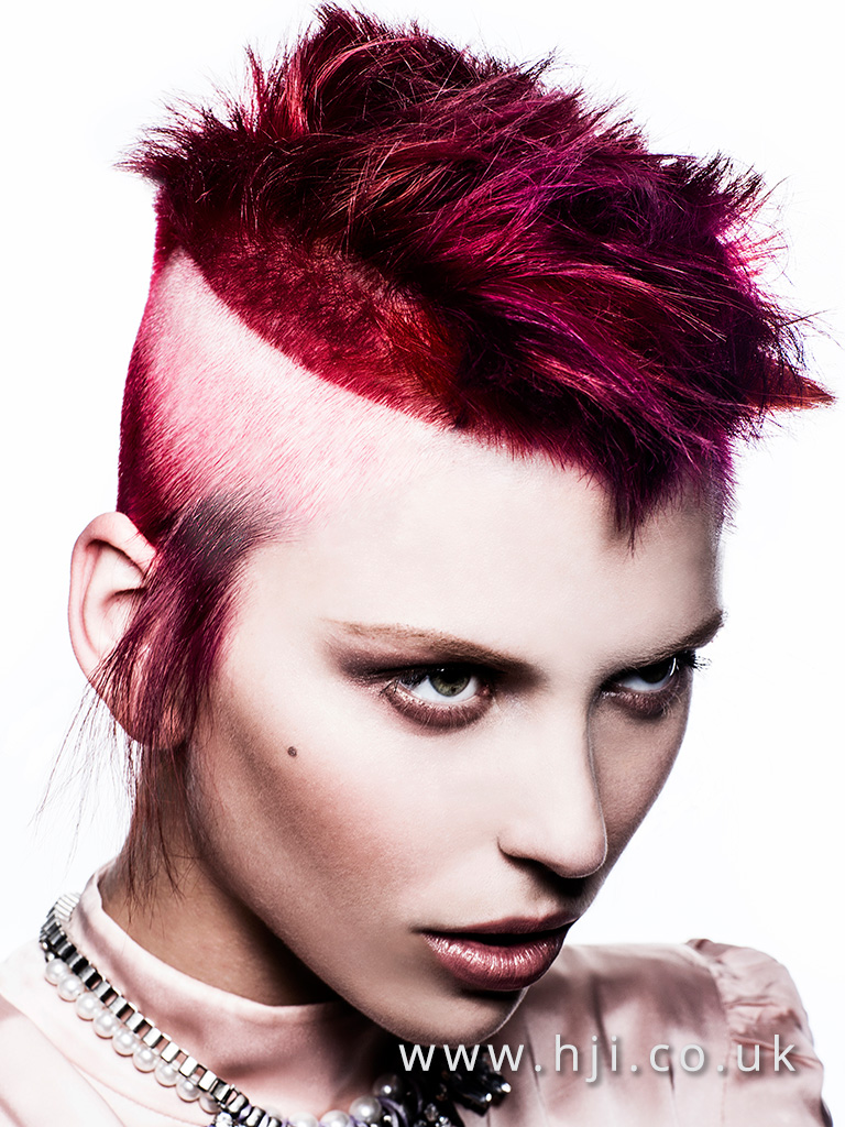 2016 BHA Colour Technician Hairstyle Siobhan Golden 08