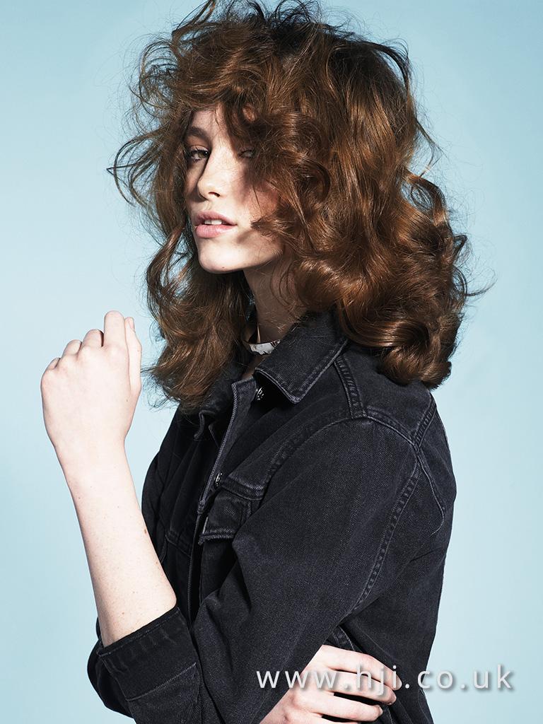 2017 soft voluminous blonde curls hairstyle