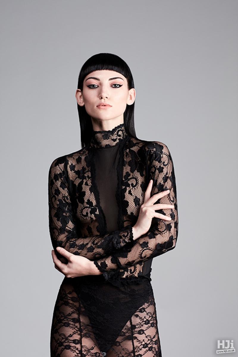 Sleek black style