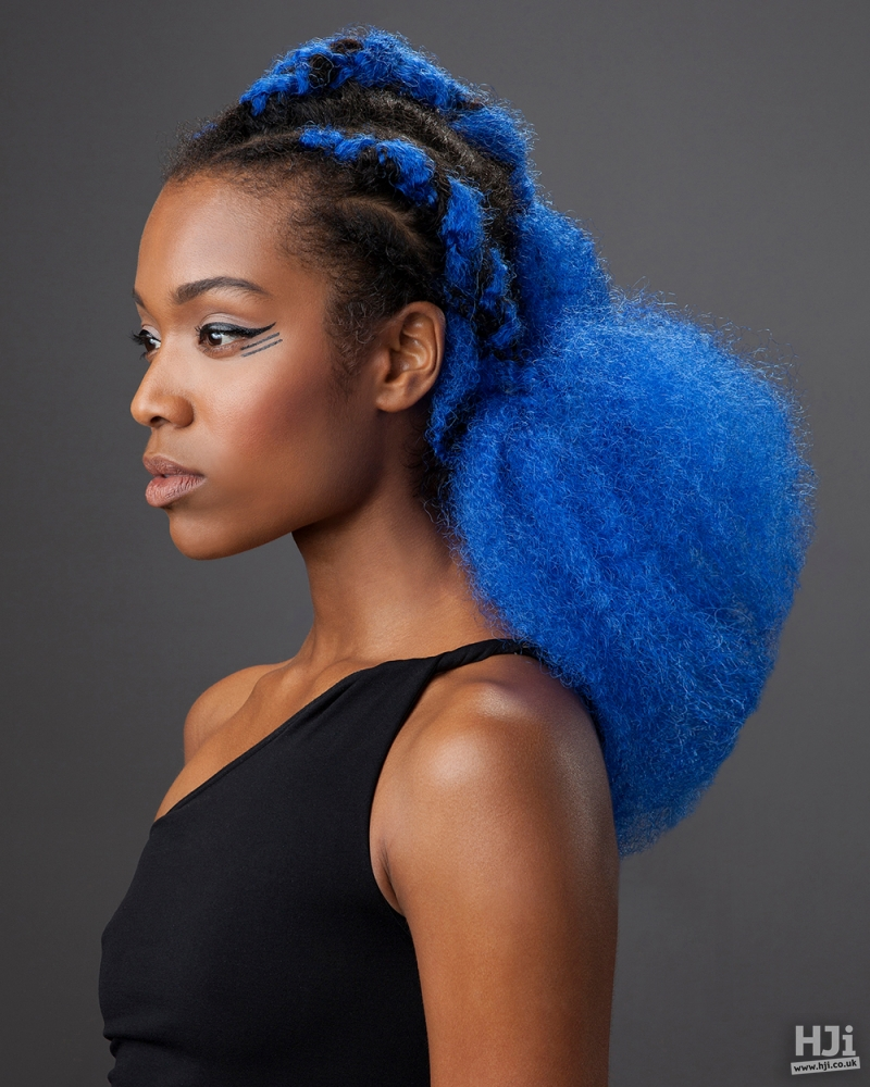 Afro creative colour
