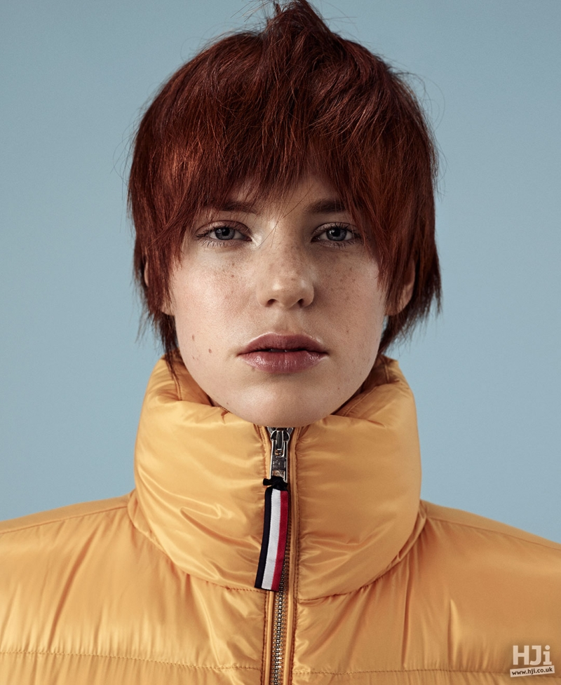 A natural texture cropped cut