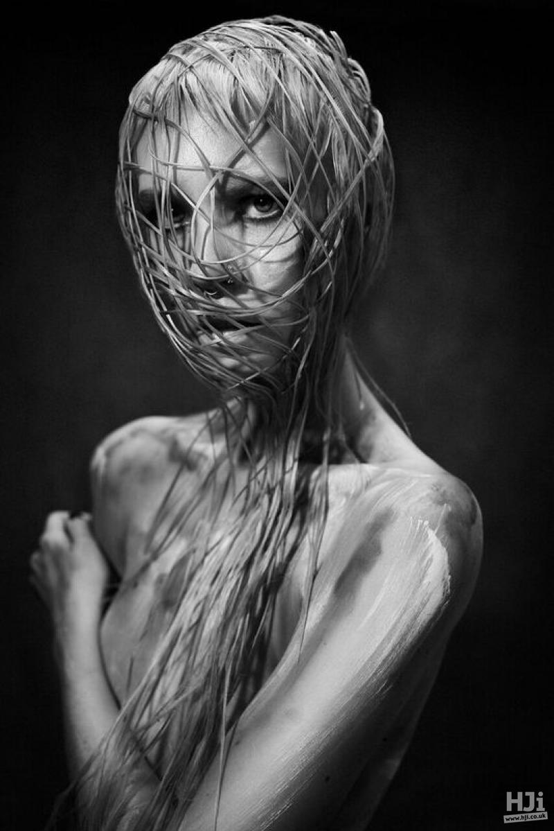 Woven veil