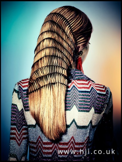 Long straight hair with stunning texture