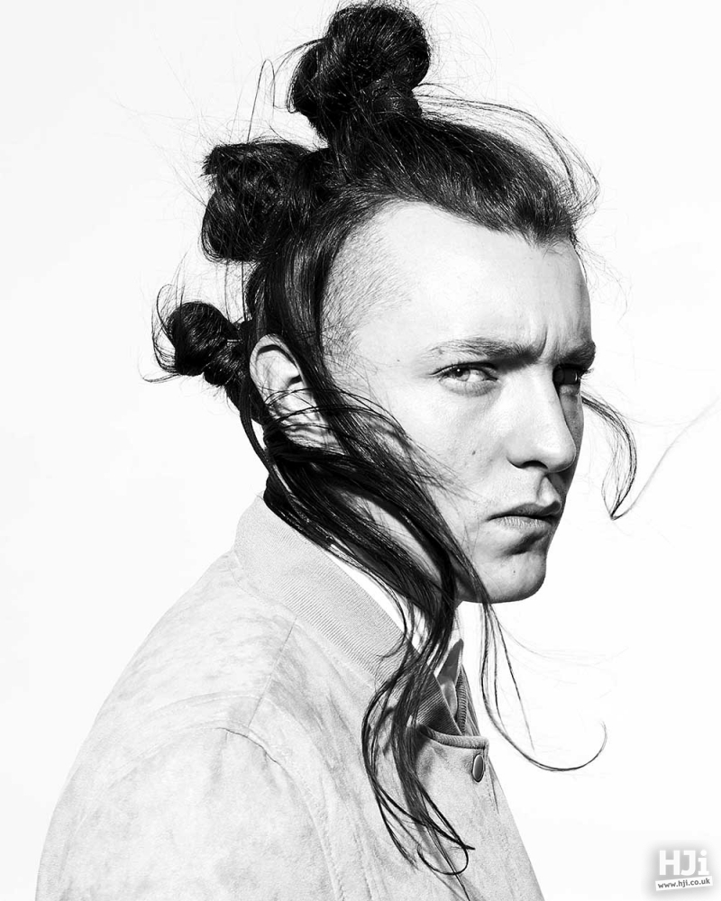 Creative use of hair tying