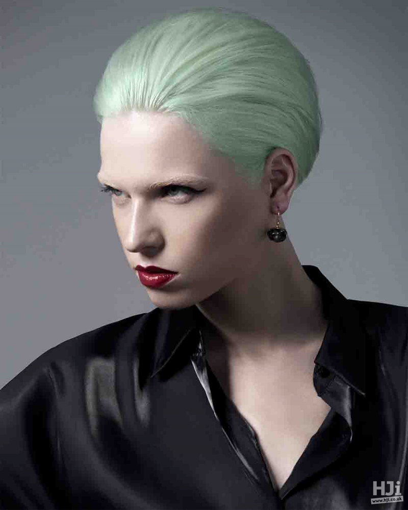Sleek green look