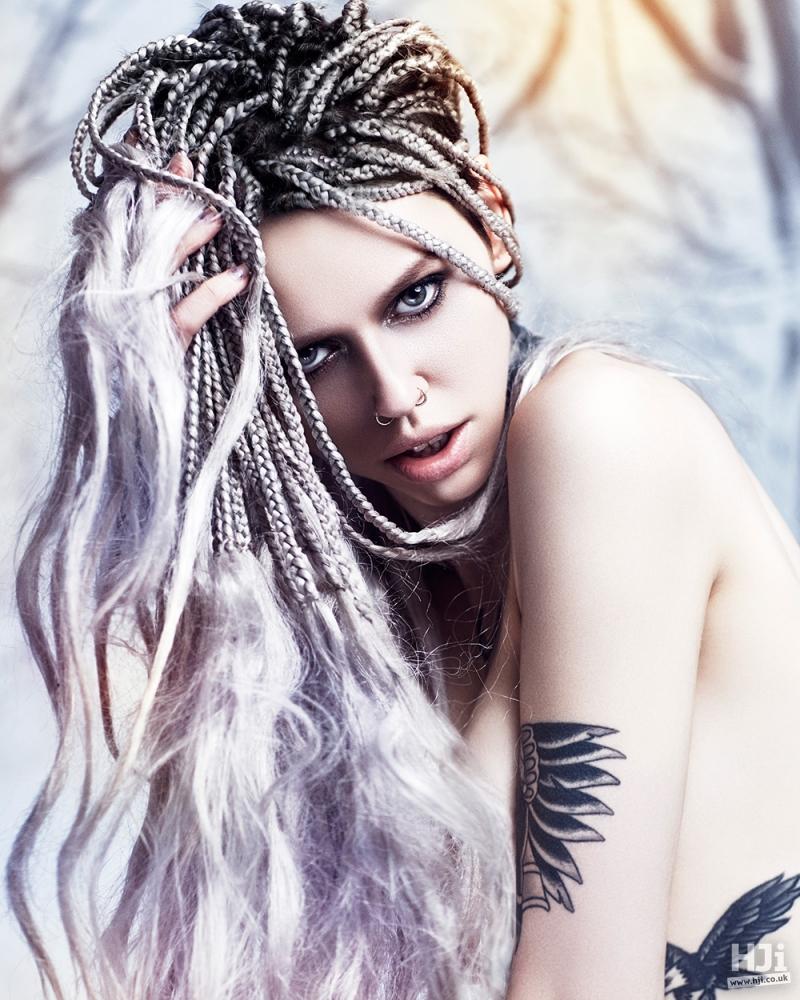 Lilac Braids