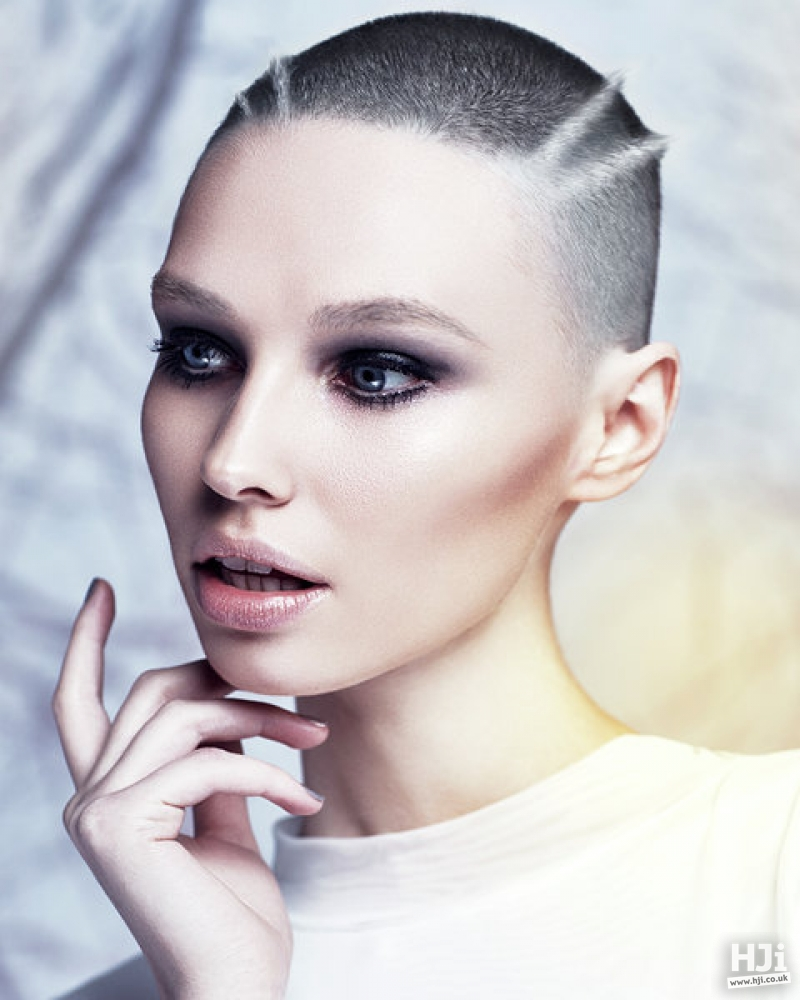 Futuristic crop cut