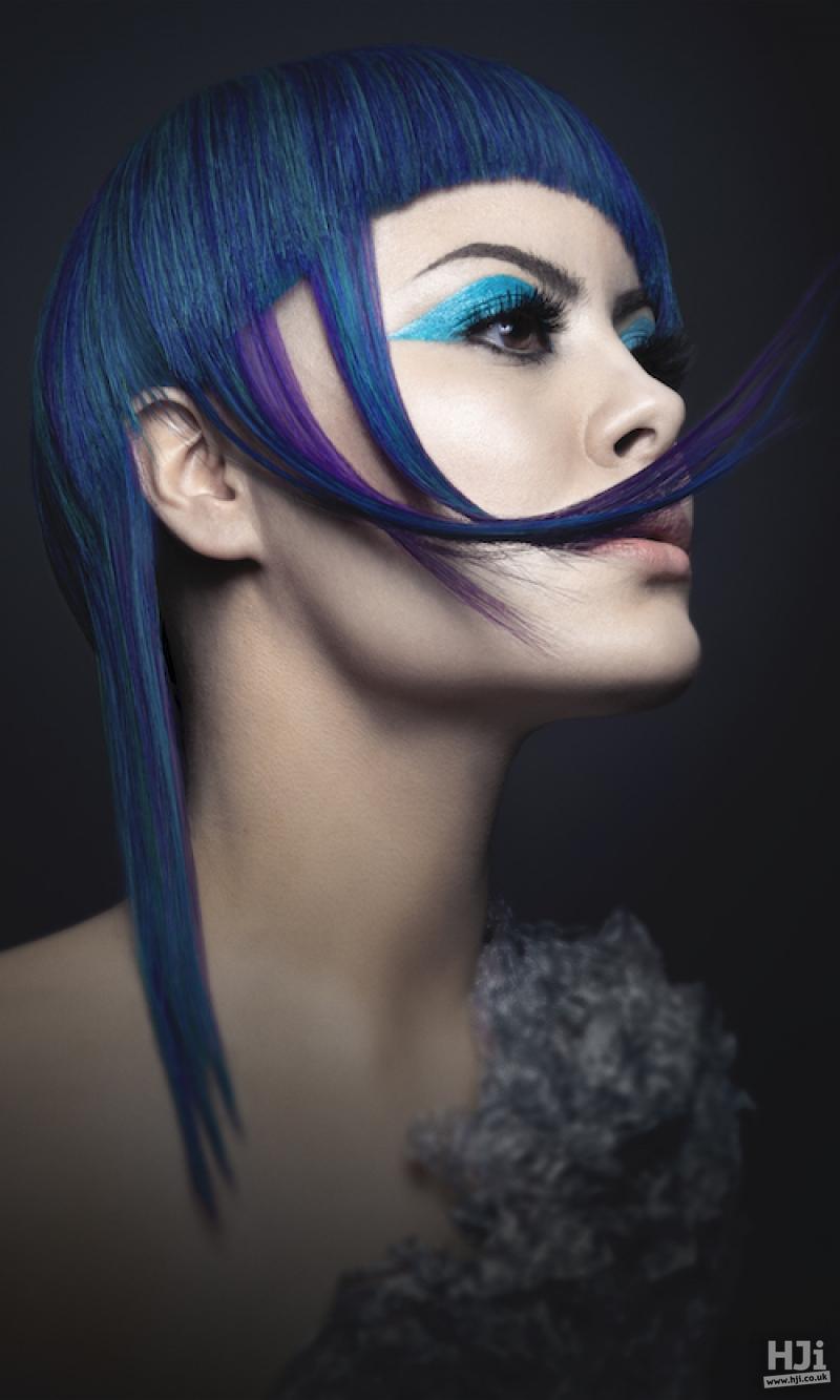 Blue long style