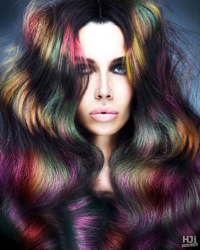 Creative colour waves