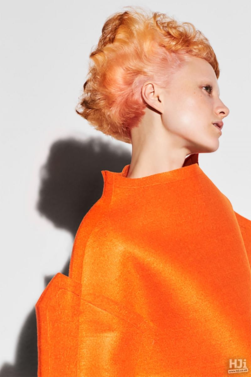 Orange natural texture